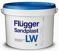 Шпаклёвка для влажных помещений среднефинишная  лёгкая мелкозернистая Flugger Sandplast LW 10л