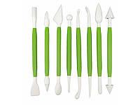 Набор инструментов для мастики из 8-ми