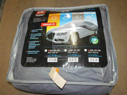 Тент авто седан PEVA L 483*178*120 Дорожная Карта DK471-PEVA-3L, фото 2