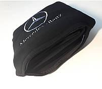 """Автомобильный плед в чехле с вышивкой логотипа """"Mercedes-Benz"""", фото 2"""