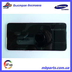 Дисплей с сенсором Samsung А805 Galaxy А80 Black, GH82-20348A, оригинал!