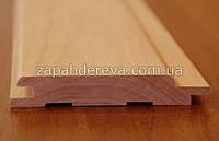 Вагонка деревянная сосна, ольха, липа Ждановка, фото 1