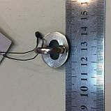 Изумруд кольцо овальное с натуральным камнем изумруд в серебре. Кольцо с изумрудом. Размер 17-17,5. Индия, фото 6
