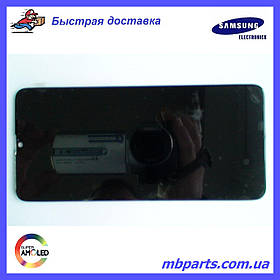 Дисплей с сенсором Samsung А207 Galaxy А20s Black, GH81-17774A, оригинал, без рамки!
