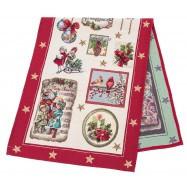 Дорожка  новогодняя гобеленовая, Коляда, 37х100 см, Эксклюзивные подарки, Новогодний текстиль