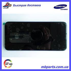 Дисплей с сенсором Samsung А202 Galaxy А20e Black, GH82-20229A, оригинал!