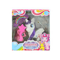 """Лошадка (My Little Pony)"""", 2шт. 5см и 11см., расческа, микс видов, AT03-2"""