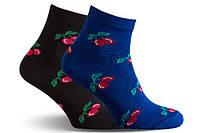 Шкарпетки бавовняні жіночі Лана Вишенька ОПТ, фото 1
