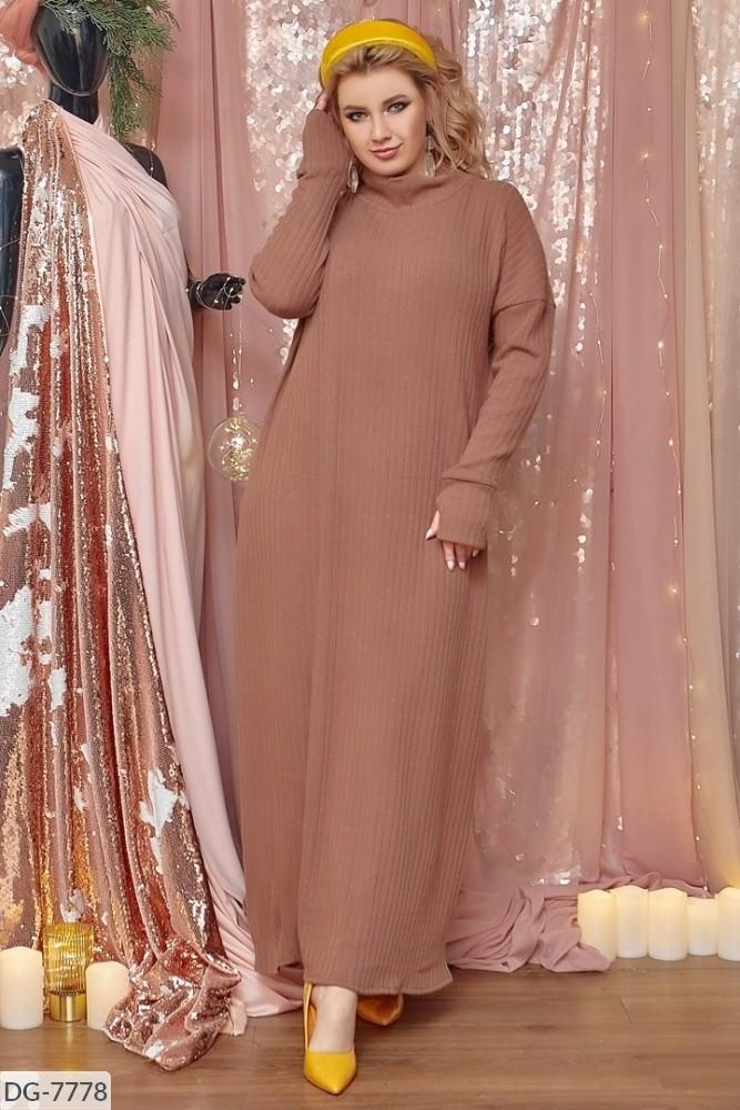 Стильное платье  (размеры 48-64) 0227-22