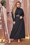 Стильное платье  (размеры 48-64) 0227-22, фото 2