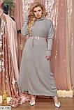 Стильное платье  (размеры 48-64) 0227-22, фото 3
