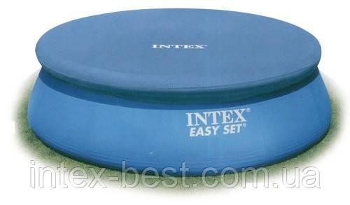 Тент для надувного круглого бассейна Intex 28020 (58939) 244 см., фото 2