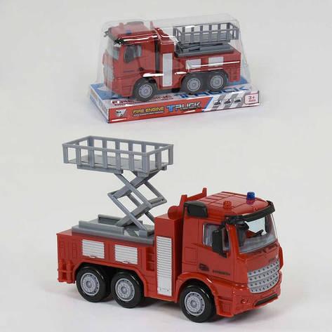 Пожарная Машина 999 А-2 (96/2) инерция, в слюде, фото 2