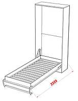 Шкаф- кровать двухспальная 200х90 Smart Bed