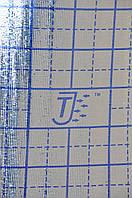 ППЕ пінополіетилен, т. 5 мм, металізоване РЕТ+розмітка тепла підлога, TERMOIZOL®