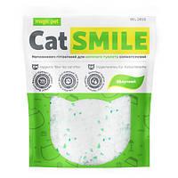 Наполнитель для котов и кошек силикагель с ароматом яблока Cat Smile Magic Pet - 3.6 л
