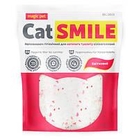 Наполнитель для котов и кошек силикагель с ароматом цветов Cat Smile Magic Pet - 3.6 л