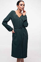 Женское платье с треугольным вырезом и поясом (Хайди ri), фото 2