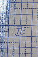 ППЕ пінополіетилен, т. 8 мм, металізоване РЕТ+розмітка тепла підлога, TERMOIZOL®