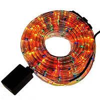 Гирлянда-дюралайт светодиодная трехжильная 10 м Разноцветная
