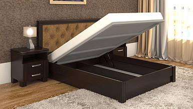 Кровать Маргарита Дерево с подъемным механизмом с односторонним матрасом