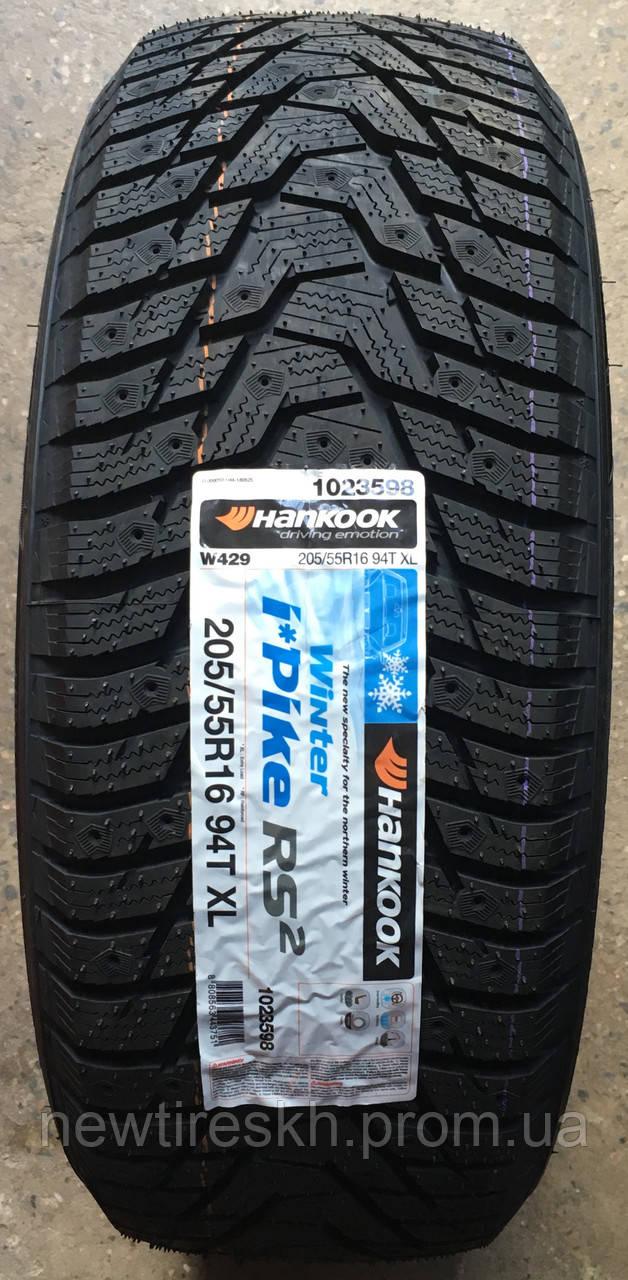 Hankook Winter I*Pike RS2 W429 155/65 R14 75T (шип)