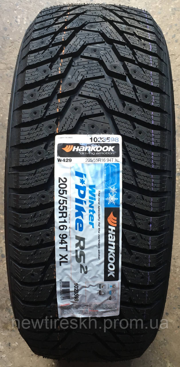Hankook Winter I*Pike RS2 W429 205/65 R16 95T (шип)