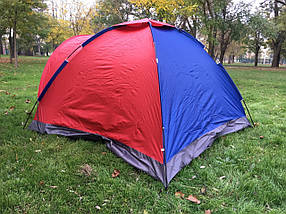 Палатка 3-х местная универсальная SY-010 (200x200x135 см), фото 3