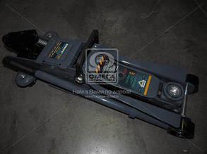 Домкрат подкатной с подсветкой, 2,5т., Н=95/385 ARMER ARM-09LT
