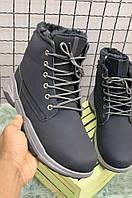 Ботинки мужские черные U 0991-1, фото 1