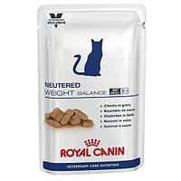 Влажный корм Royal Canin Neutered Weight Balance для стерилизованных кошек до 7 лет склонных к избыточному весу, 100 г