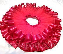 Спідниця-пачка дитяча червона (2 шари), фото 2