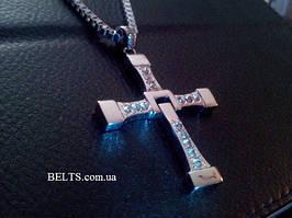 Современный крест Доминика Торетто, кулон Вин Дизеля из фильма «Форсаж»