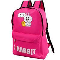 Мягкий детский рюкзак eterno det9523-13-1 красный на 13 литров