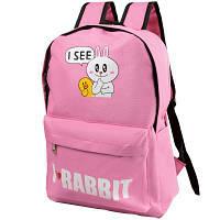 Мягкий детский рюкзак eterno det9523-13 розовый на 13 литров