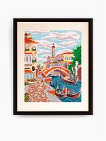 Схема для вышивки бисером Венеция