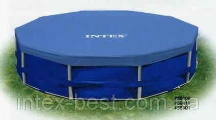 Тент для каркасных бассейнов Intex 58411  (366 см. )