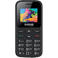 Телефон Sigma Comfort 50 CF113 HIT2020 Black БАБУШКОФОН 1450мач, фонарик, bluetooth