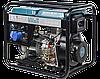 Однофазный дизельный генератор Könner & Söhnen KS 8100HDE (Euro V) 6.5 кВт, фото 3