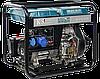 Однофазный дизельный генератор Könner & Söhnen KS 8100HDE (Euro V) 6.5 кВт, фото 4