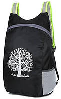 Компактный легкий влагозащитный рюкзак для похода ReD 15л ultra black