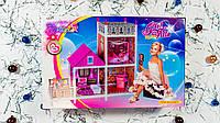 Двухэтажный кукольный домик Girl Villa