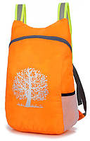 Компактный легкий влагозащитный рюкзак для похода ReD 15л orange