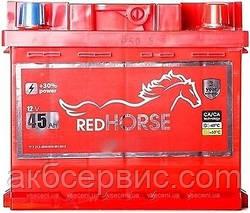 Акумулятор автомобільний Red Horse 6CT-45 АзЕ Premium