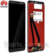 Дисплей для Huawei Mate 10 Lite, Nova 2i (RNE-L01/RNE-L21) с тачскрином, Black, фото 3