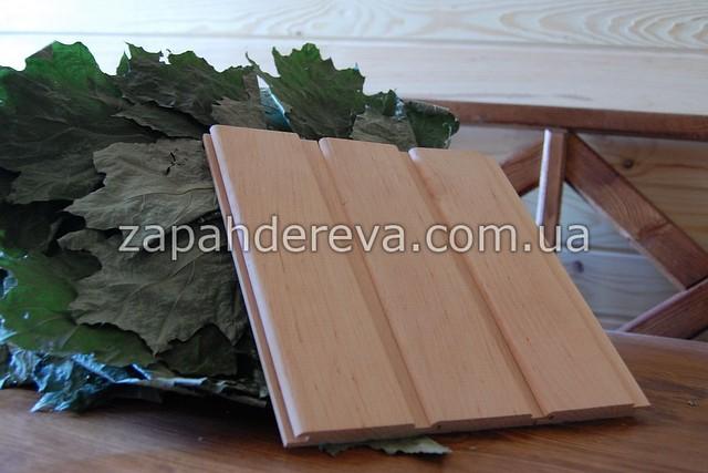 Вагонка деревянная сосна, ольха, липа Украинск