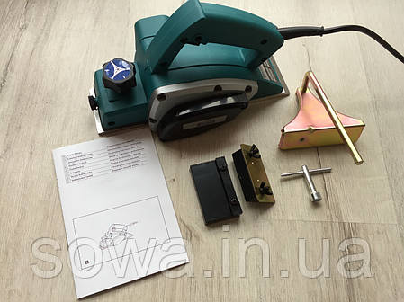 ✔️ Електричний рубанок Euro craft EP210 / 1300Вт, фото 2