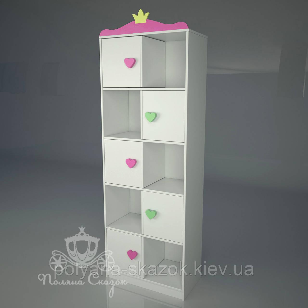 "Стеллаж ""Шахматка"" ""Принцесса"", фото 1"