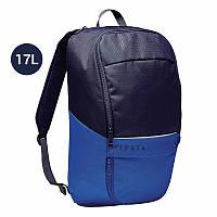 Рюкзак спортивный для походов, спортивний рюкзак, Kipsta Classic Team Sports blue 17л