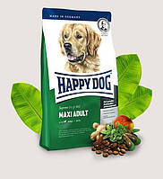 Сухой корм для взрослых собак крупных пород весом от 26 кг Happy Dog Fit Well Maxi Adult Хэппи Дог Макси Адалт